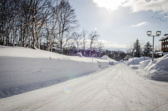 Bye bye soft snow. :(