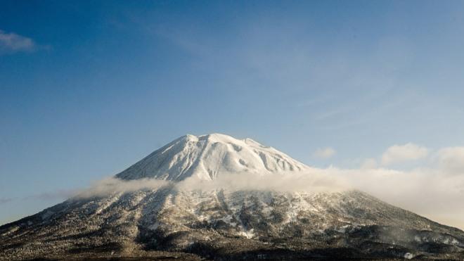 Niseko Annupuri Mountain, the jewel of Hokkaido.