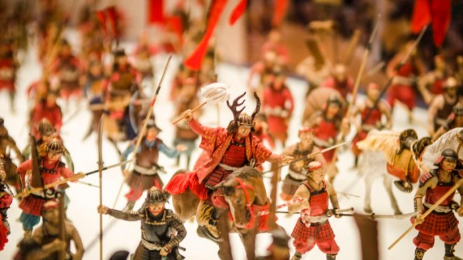Numerous interactive diorama, miniatures and replicas can be found inside the castle.