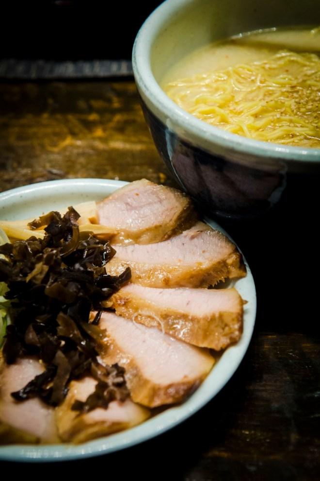 The specialty: Black Pork Cheek Ramen, or Tokusen Toroniku Ramen.
