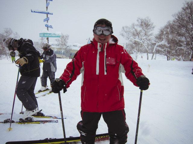 Me in fully rented ski gear.