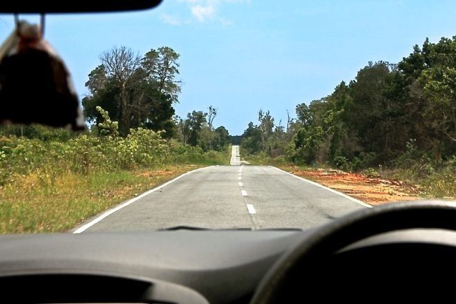 The road in Belitung (Photo source: GIV/MB)
