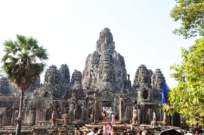 Bayon Temple in Angkor Thom. (Photo: Stella NW)