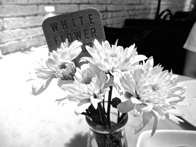 Table details... especially love this shot in black and white :D
