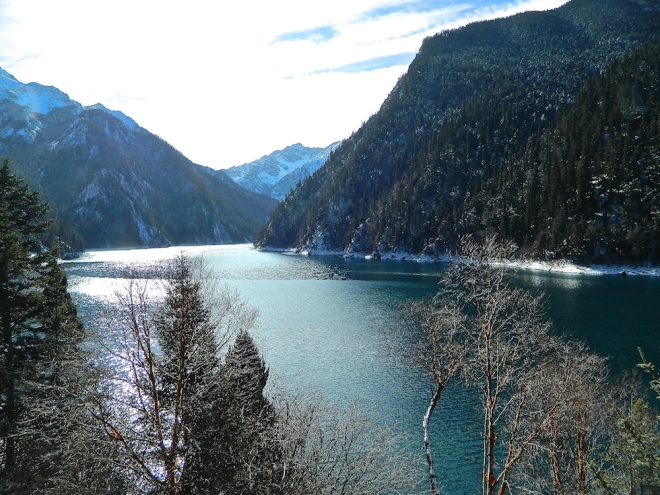 Long Lake (长海) - the highest, largest and deepest lake in Jiuzhaigou